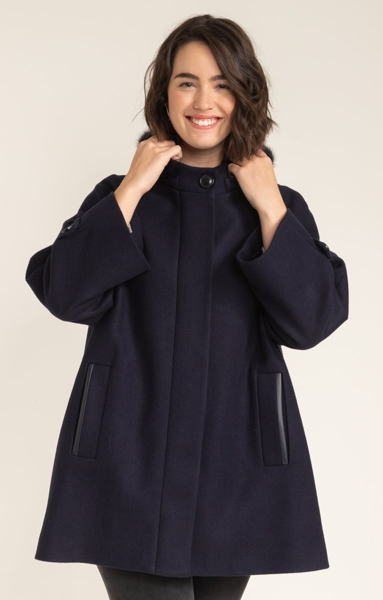 MANTEAU FORME CAPE