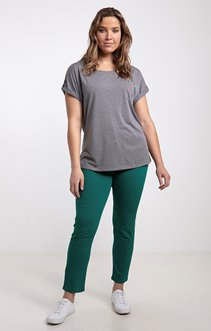 Pantalon slim uni