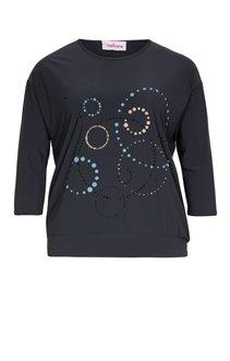 Tee-shirt ample avec cercles de couleur