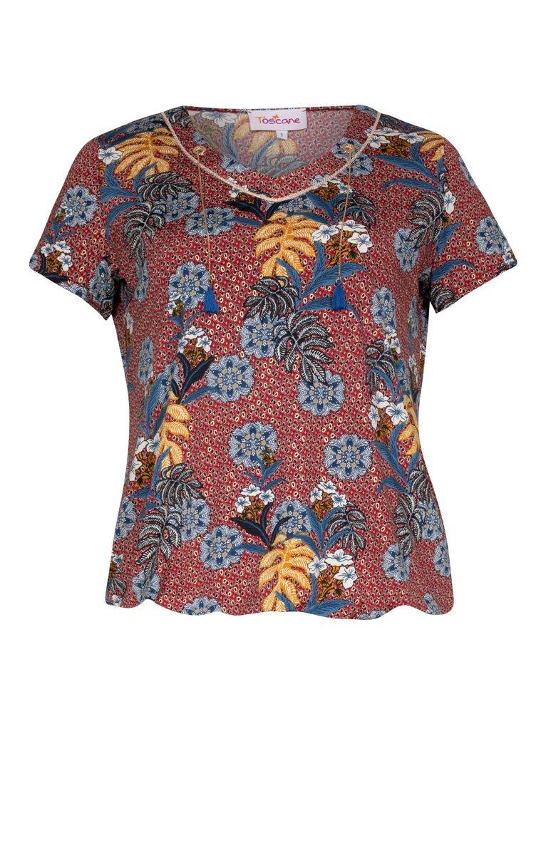 Tee-shirt imprimé avec liens