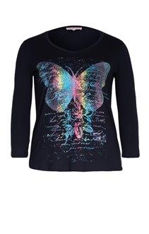Tee-shirt avec motif papillon