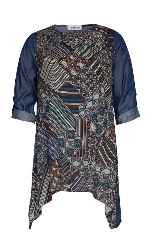 Chemisiers grandes tailles femme - Toscane - vêtements grandes tailles f9691d7f8f22
