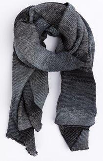 écharpe plissé tie and dye