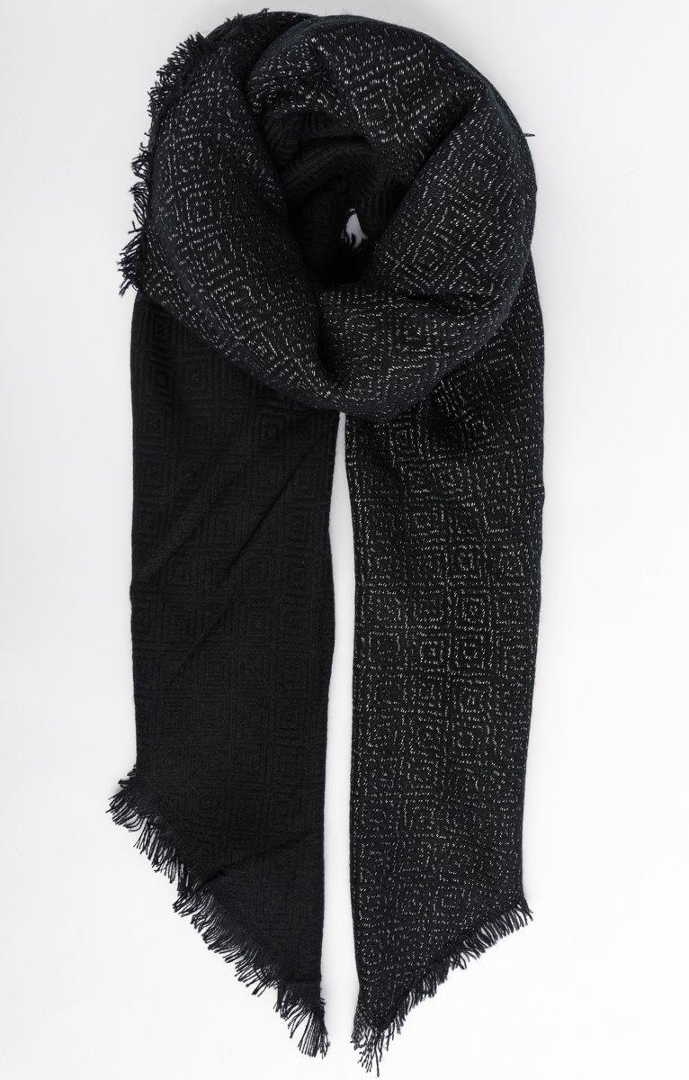 Foulard à motifs argentés - 24,95€ - Toscane 111a31d0ba3