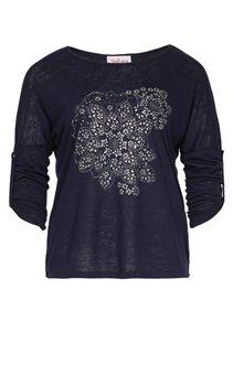 Tee-shirt avec rosaces