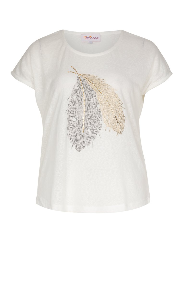 Tee-shirt à manches courtes avec motif