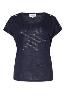 Tee-shirt avec étoile en strass