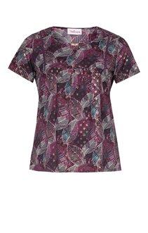Tee-shirt imprimé avec plastron