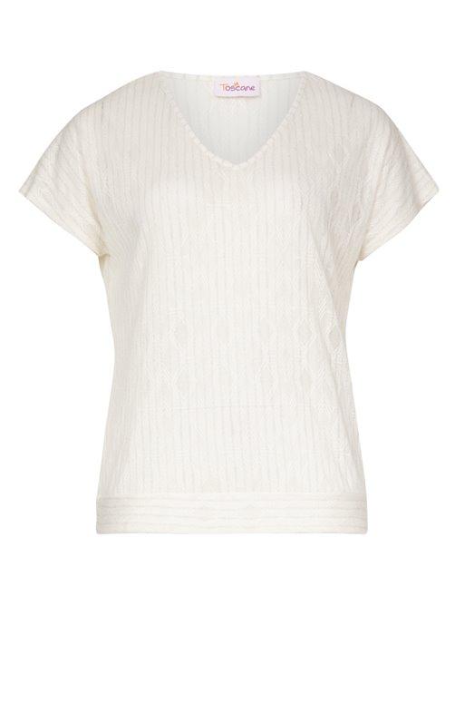 Tee-shirt avec lurex