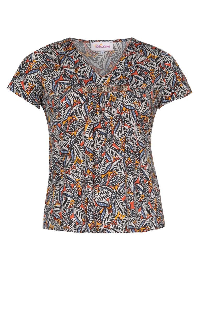 Tee-shirt imprimé avec accessoire