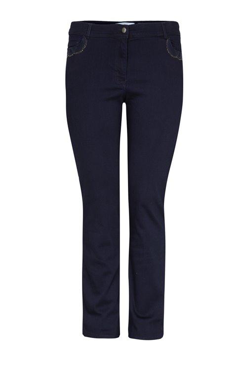 Pantalon grande taille femme - Toscane - vêtements grandes tailles ae9f13826de