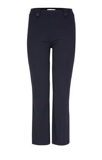 Pantalon droit détail boutonné
