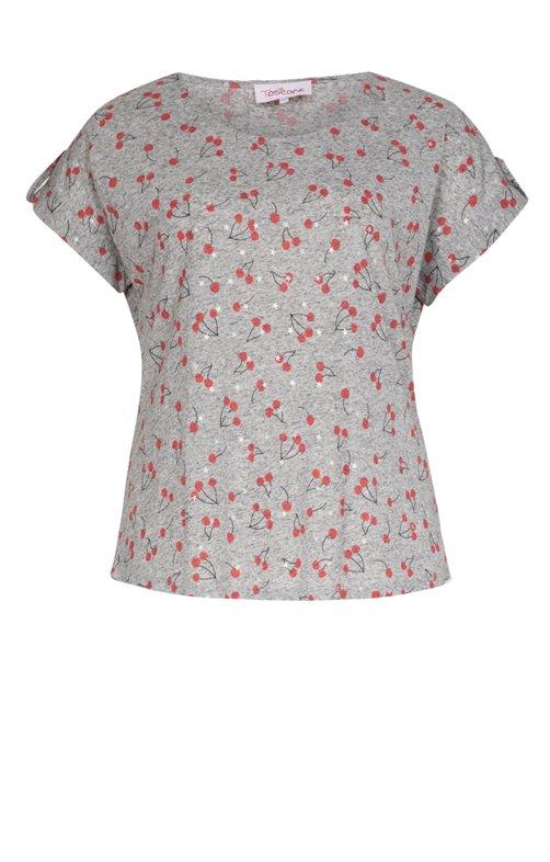 Tee-shirt imprimé cerises
