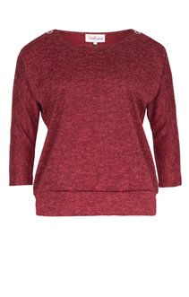 PULL  CHINE + OEILLET A L'ENCOLURE
