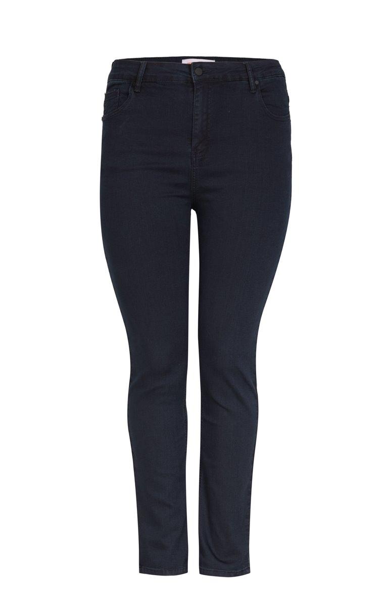 Pantalon forme droite en jean