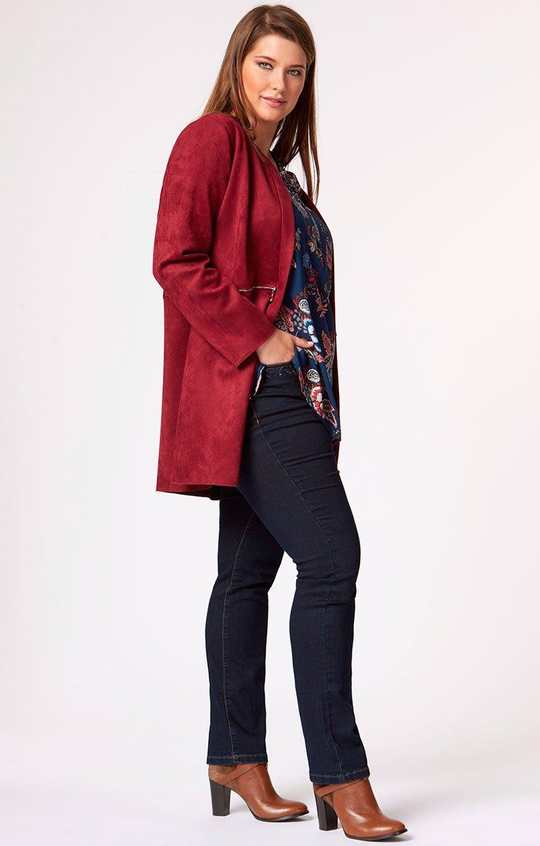 Pantalon droit en jean