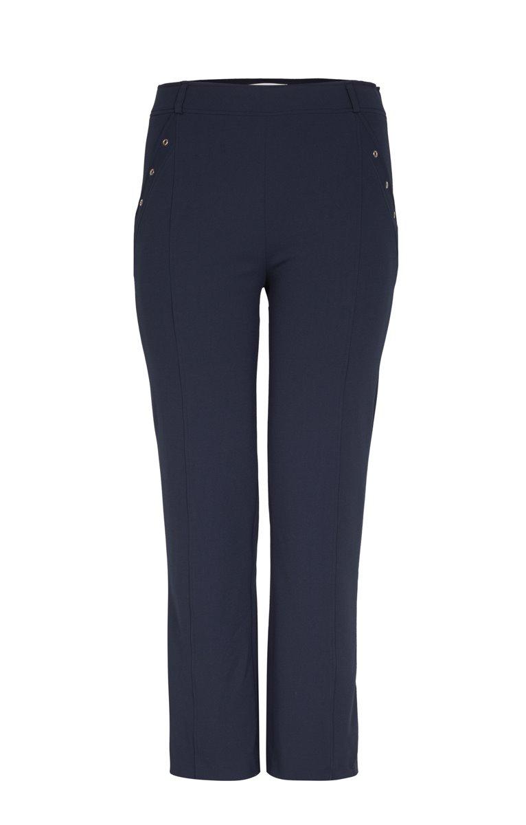 Pantalon large avec couture