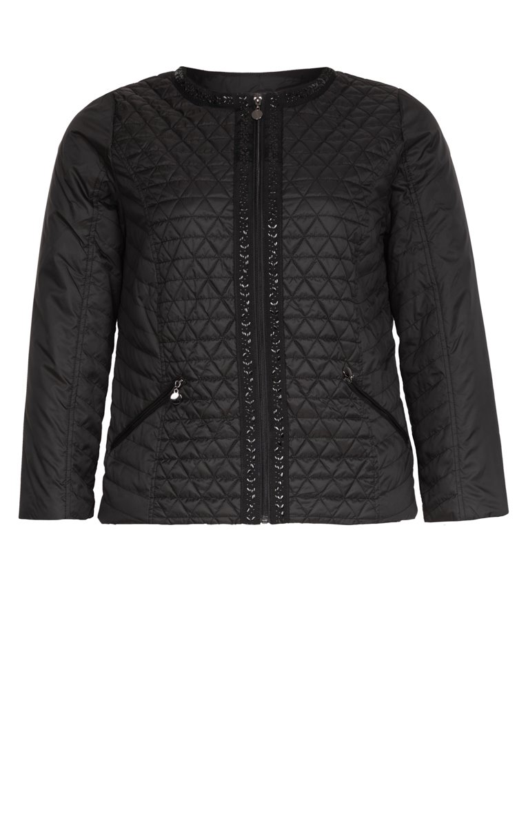 PARKA LEGERE COURTE DETAIL STRASS