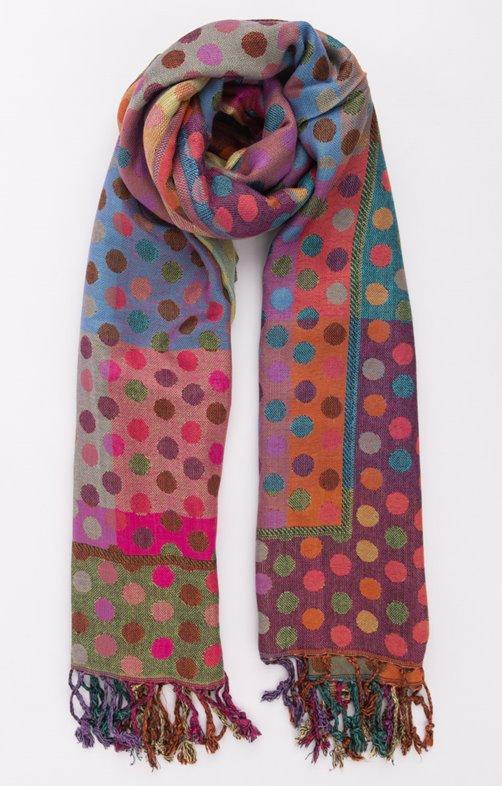 Foulard pashmina multicolor
