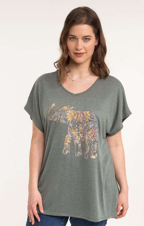 tee-shirt LIN ELEPHANT