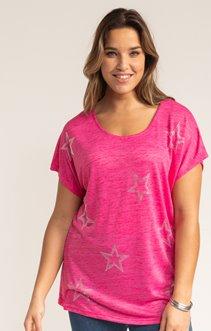 Tee-shirt LIN ETOILES STRASS