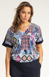 Tee-shirt IMPRIME FLUO