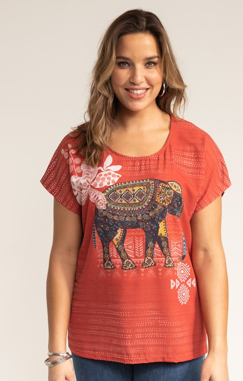 Tee-shirt ELEPHANT STRASS