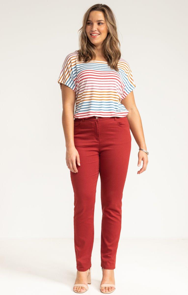 Pantalon droit superstretch
