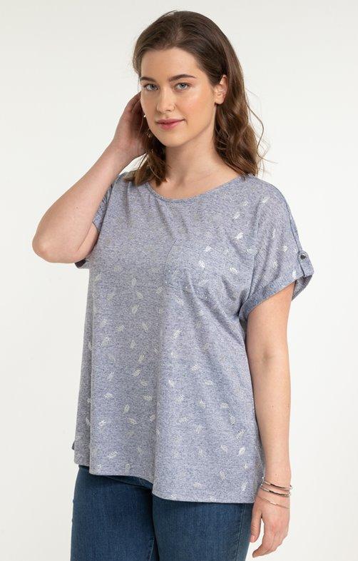 tee-shirt FOIL FEUILLES
