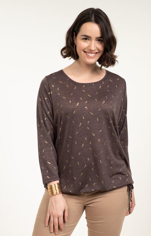 tee-shirt LIN PLUMES