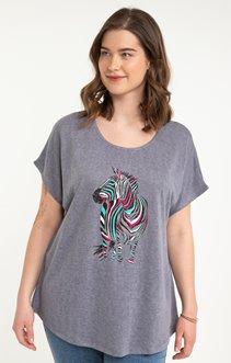 tee-shirt LIN ZEBRE