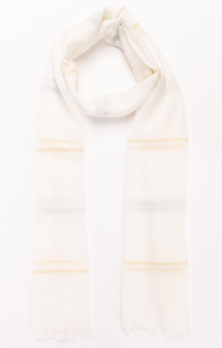 Foulard blanc cérémonie