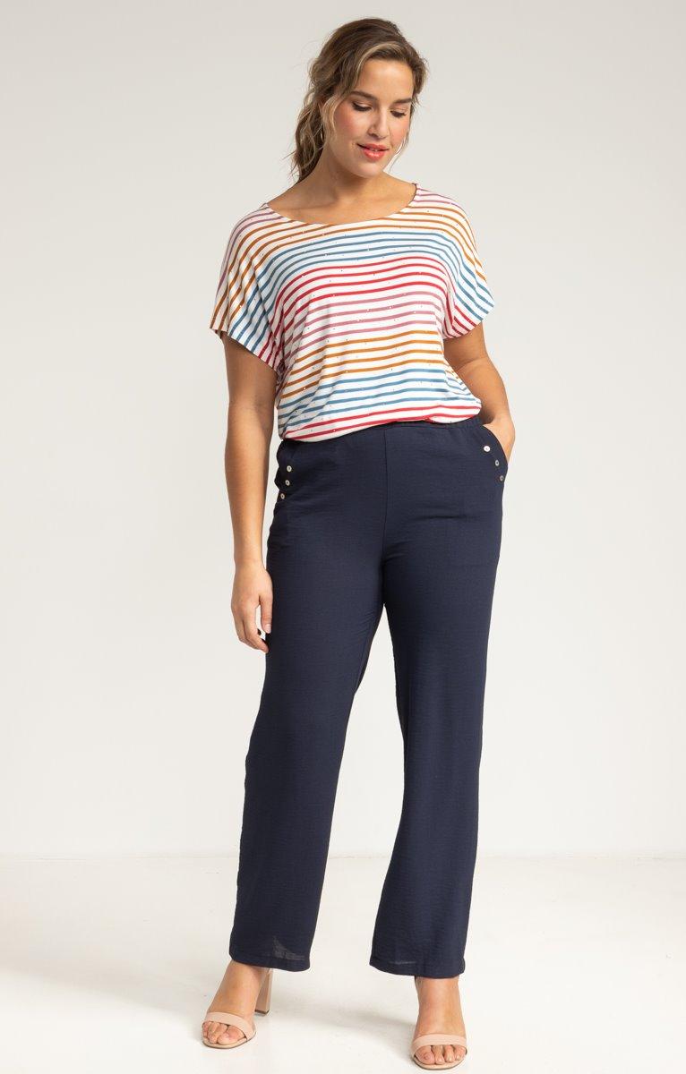 Pantalon large avec vraies poches