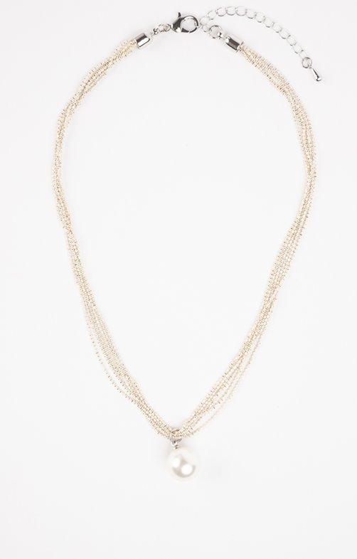 ras-du-cou avec perles