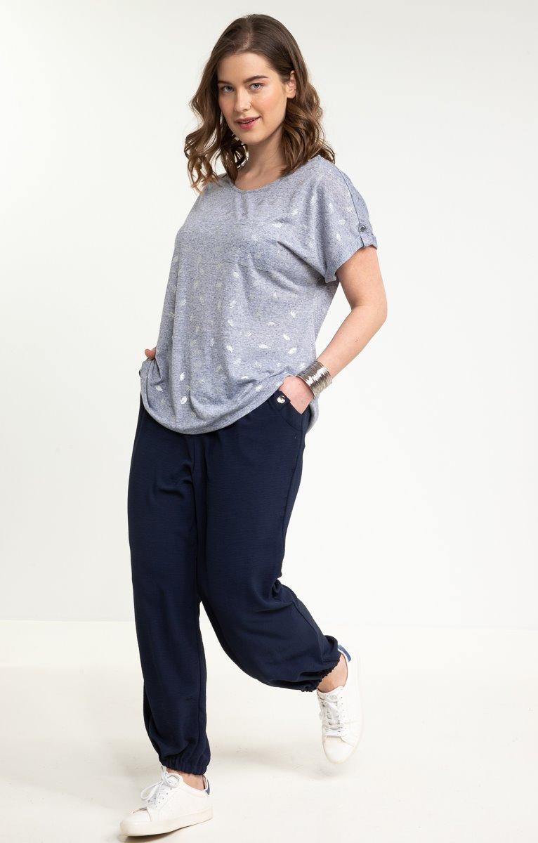 Pantalon boule long, vraies poches