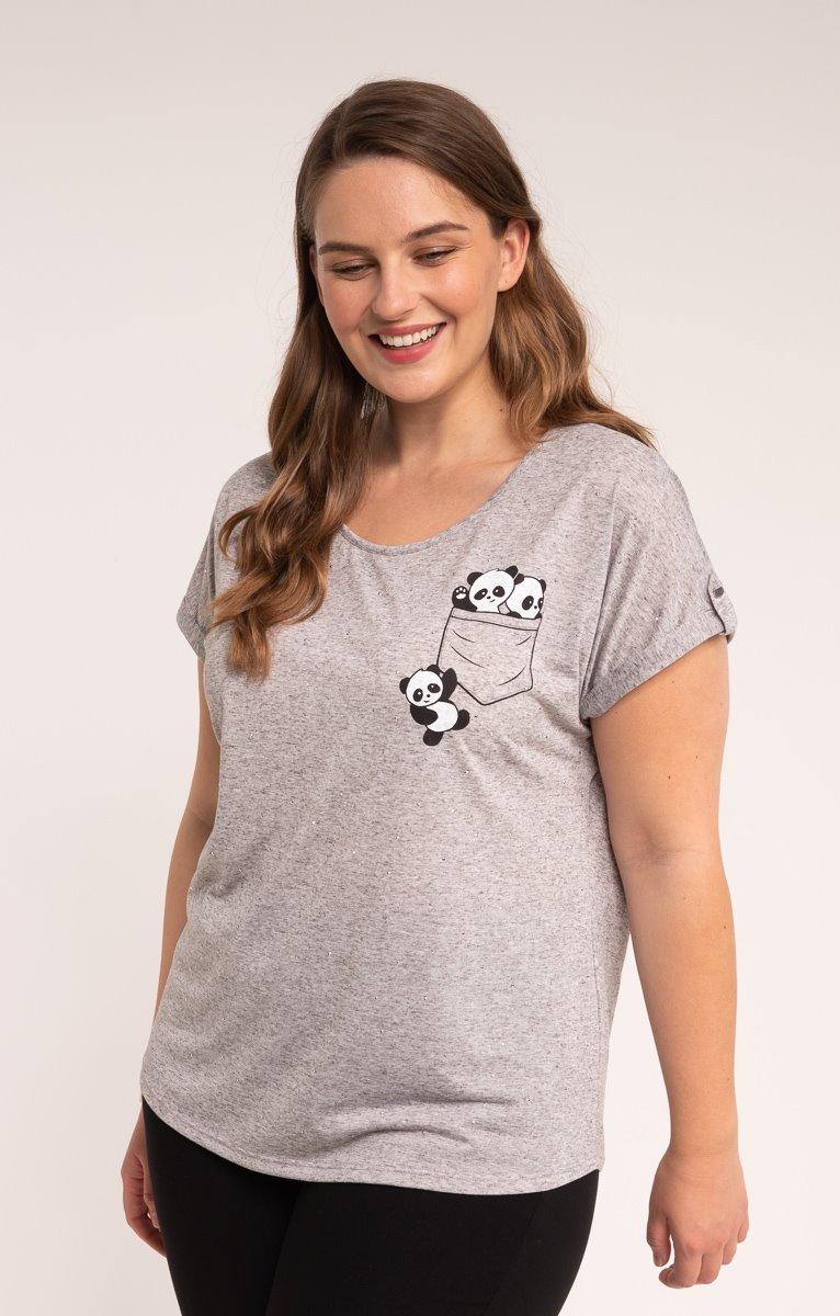 tee-shirt POCHE PANDA