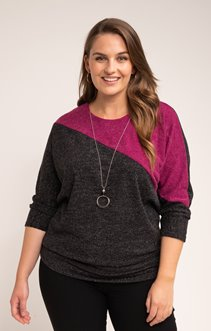 PULL PATCH AVEC COLLIER