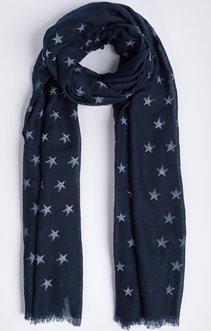 Foulard étoiles lurex