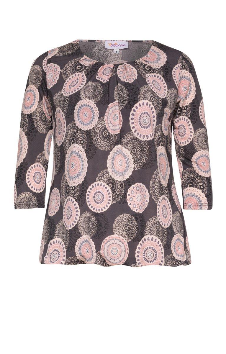 Tee shirt rosaces