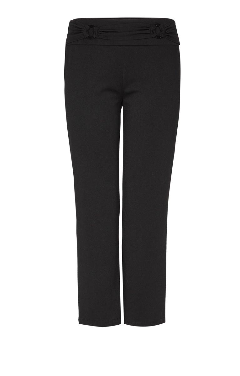 Pantalon fluide et ceinture plissée