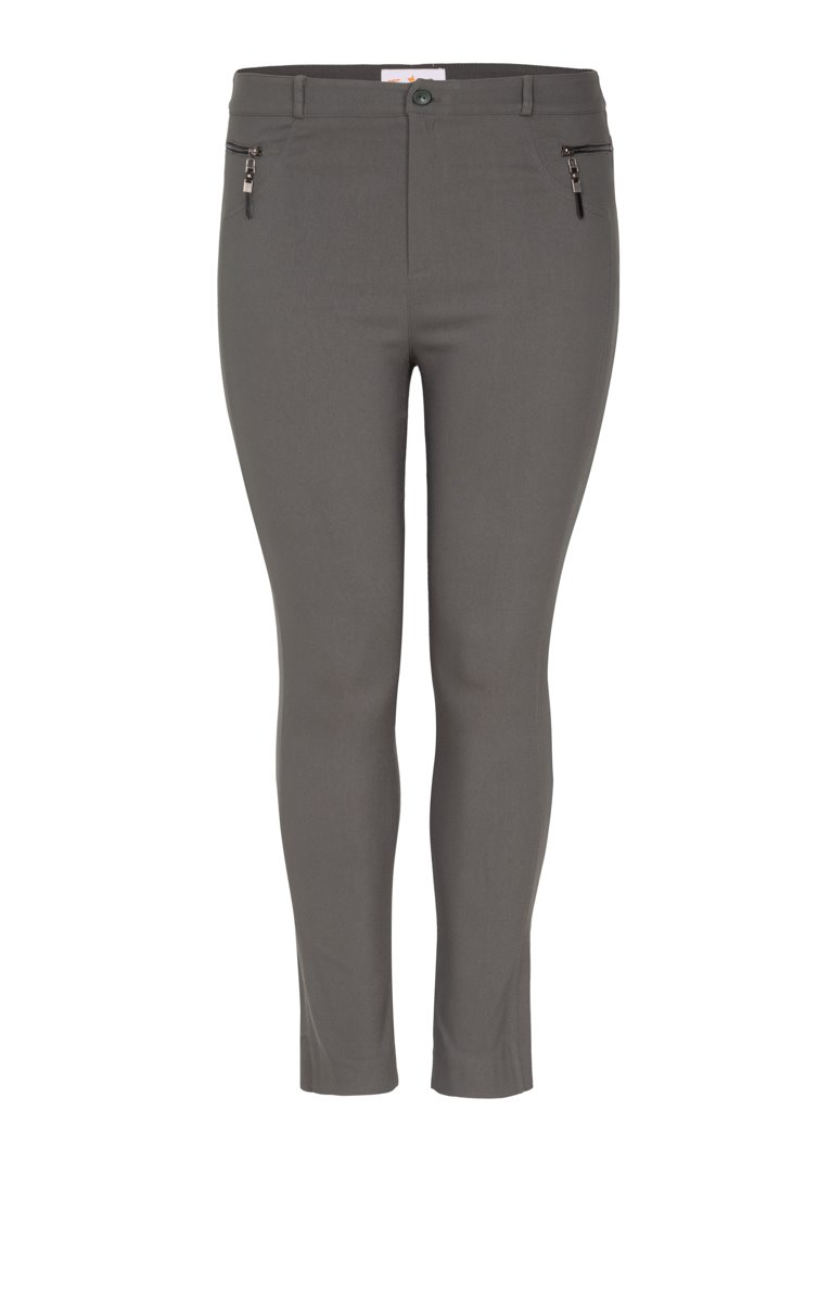 Pantalon skinny poches zippées