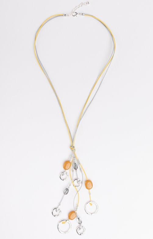 Collier liens et perles