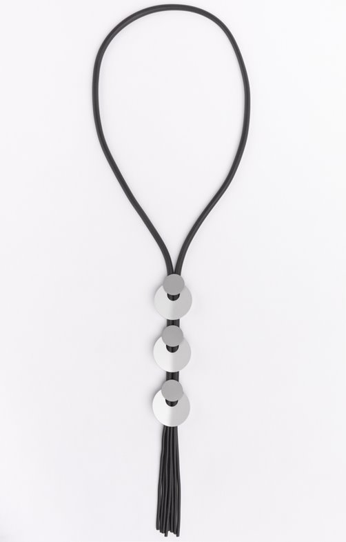 Collier lien et empiècements cercles