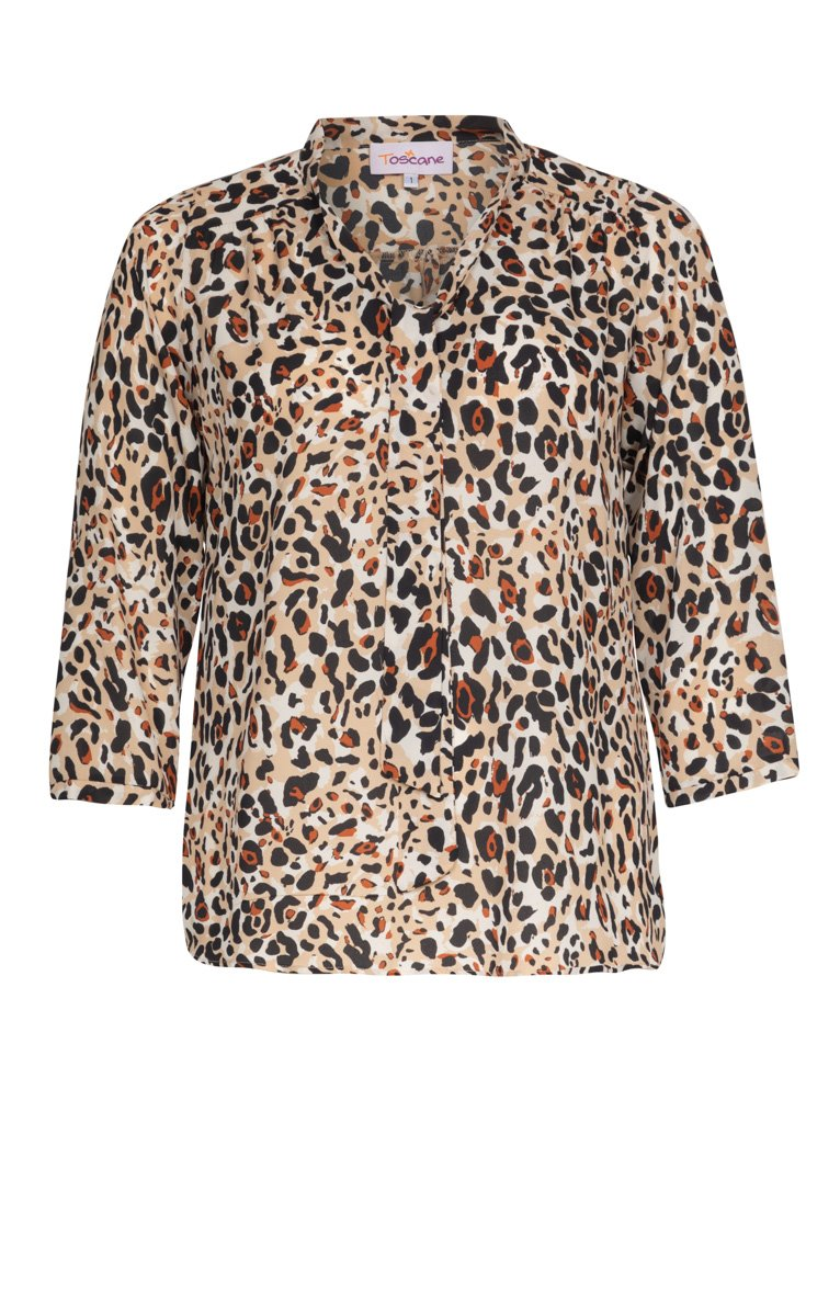 Blouse imprimé animal