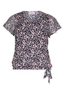 Tee-shirt imprimé avec manches courtes