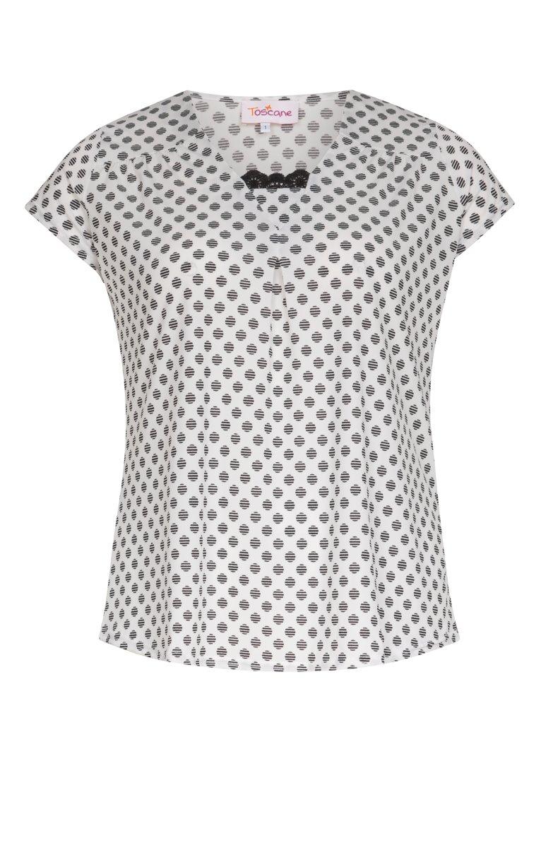 Tee-shirt manches courtes à pois