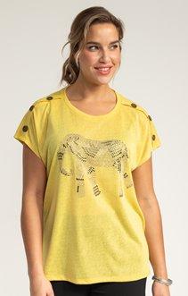 Tee-shirt LIN ELEPHANT STRASS