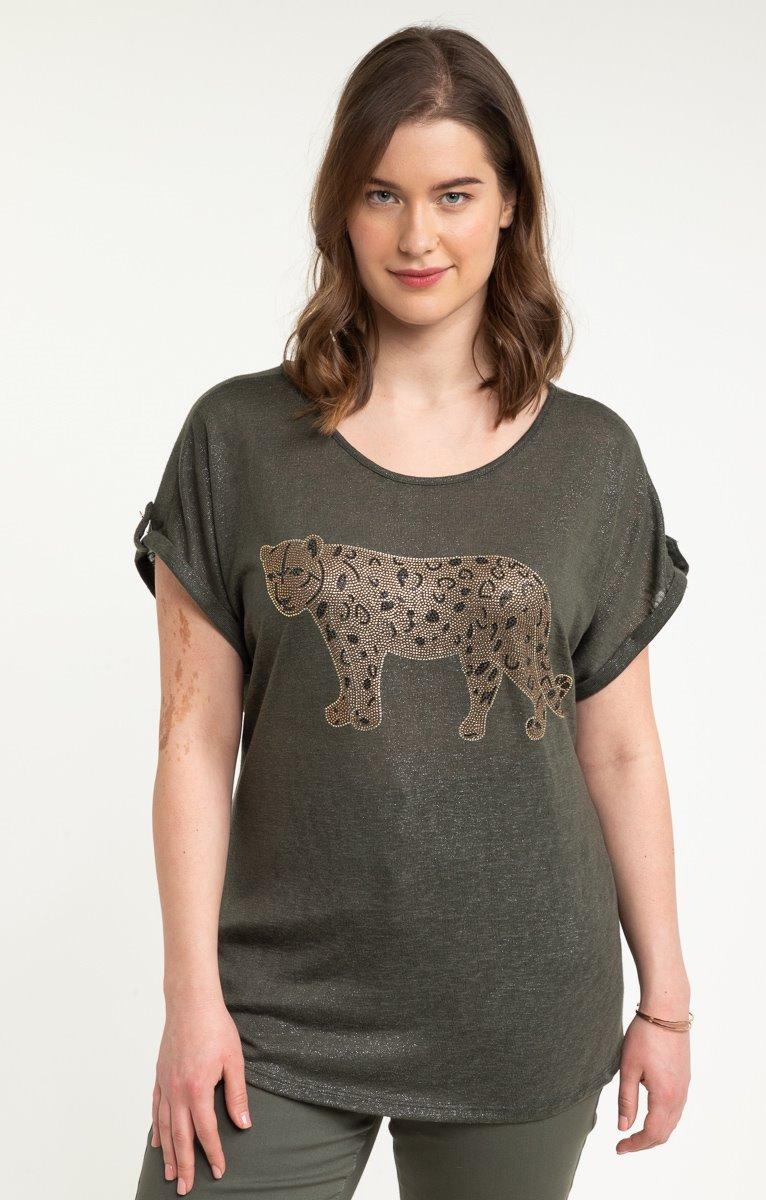 tee-shirt LIN GUEPARD