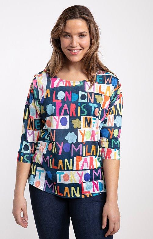tee-shirt CAPITALE